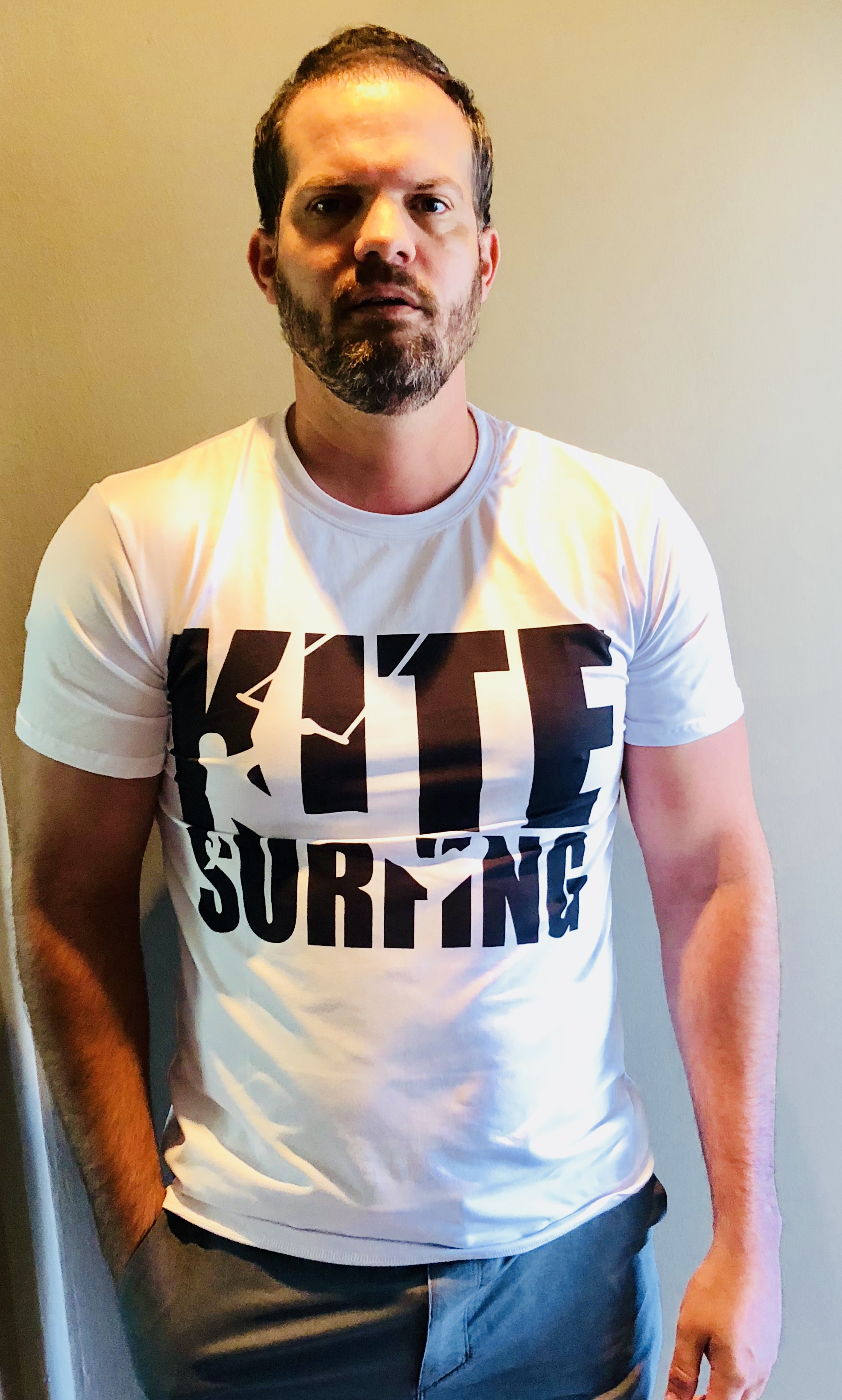 5f6135c92 Kitesurfing T-shirt - Who can Forget