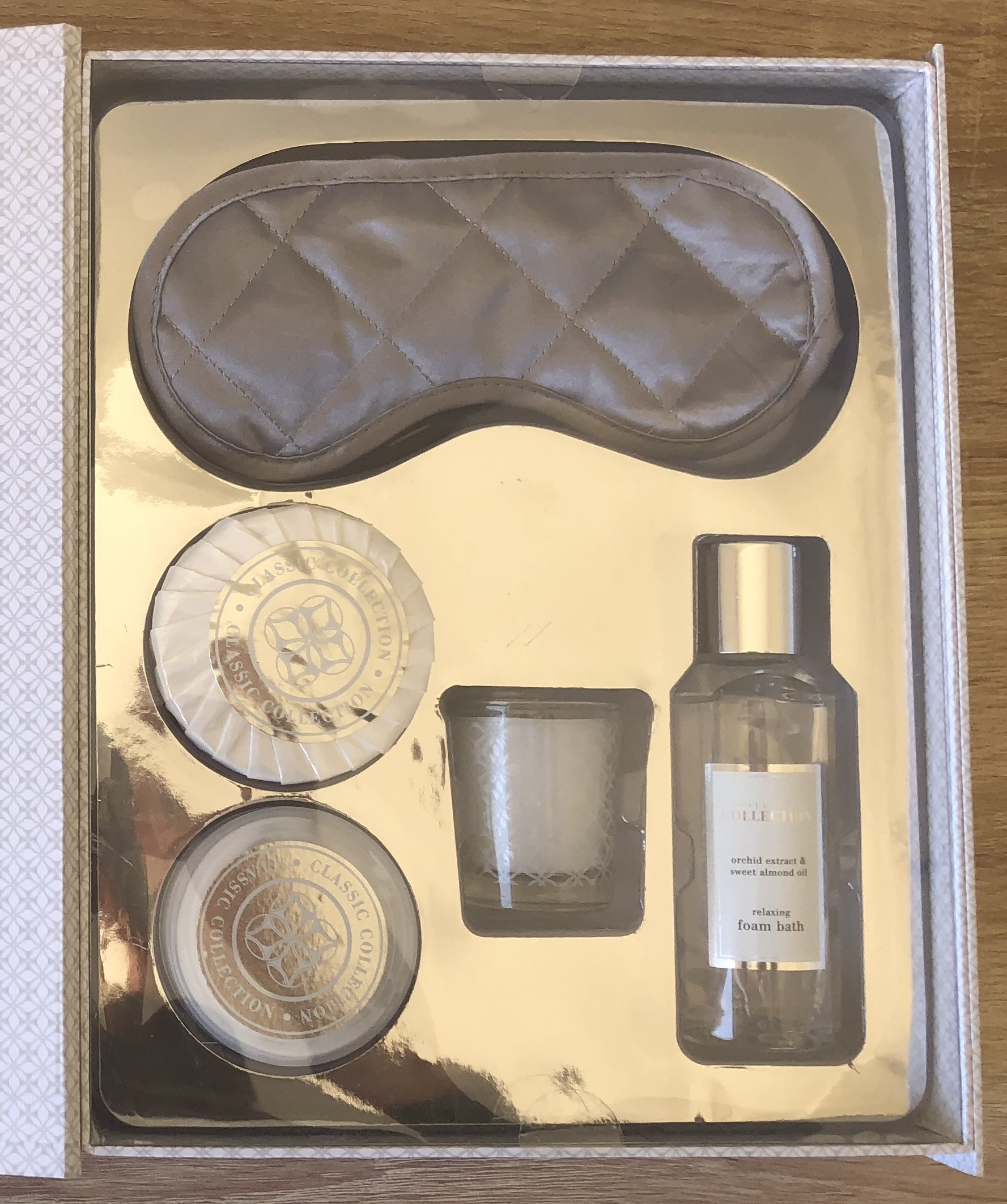 Sleep pamper Gift set