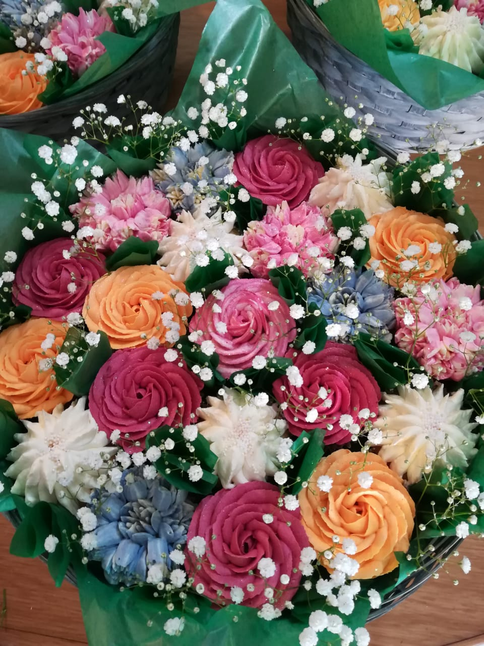 Cupcake Flower Bouquets Baskets Who Can Forget